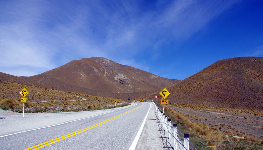 Lake Mapua Long Roads Newzealand Open-air Bath Picturesque Roads Scene South Island Travel Photography Wanaka