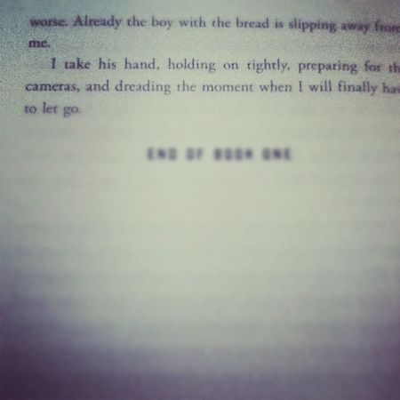 Finished the first book yesterday !!! All I can say is I am obsessed. Teampeeta Katniss Prim Gale thehungergames Rue