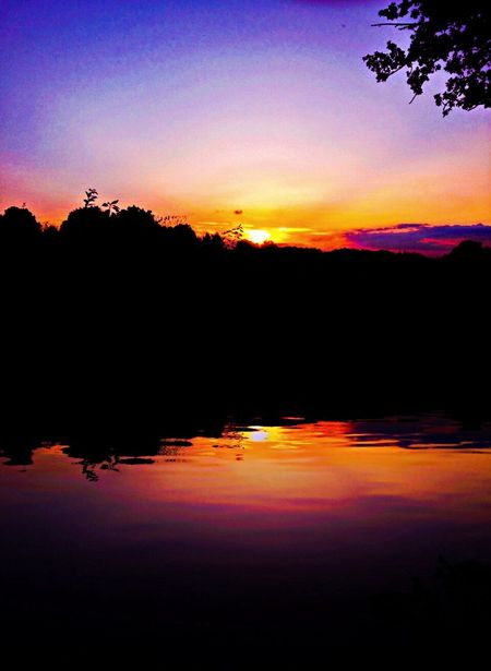 Water Reflections Nature EyeEm Nature Lover Sunset Silhouettes