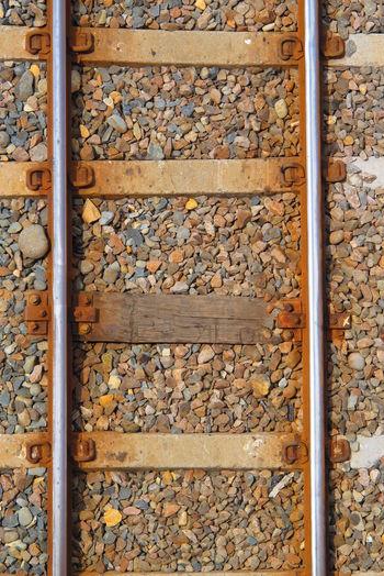 Full Frame Railroad Track