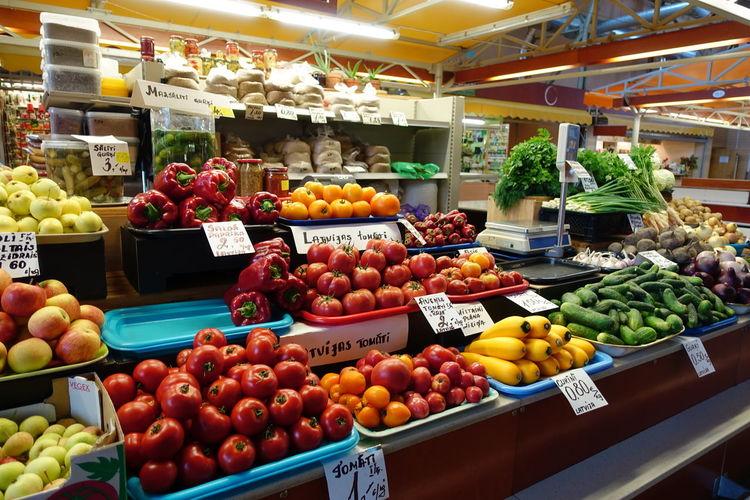 Market Stall at