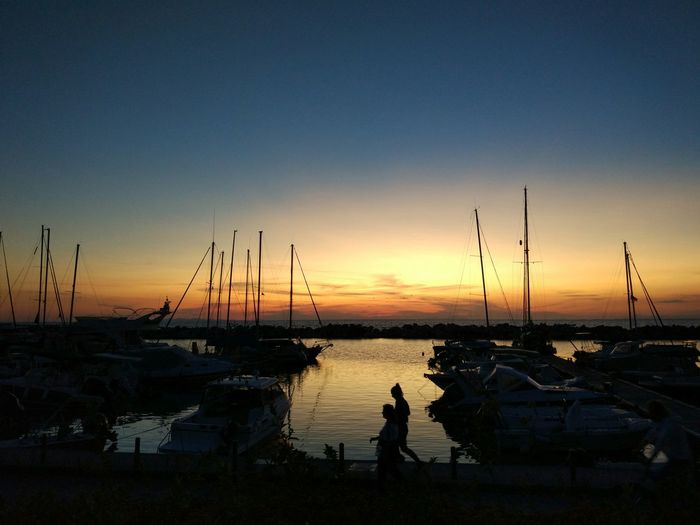 Patras sunset Sunset Silhouette Reflection Sky Water Sun Tranquility Travel Destinations Outdoors Landscape Sea Nature Vacations Scenics No People Full Length Beauty In Nature Nautical Vessel EyeEmNewHere