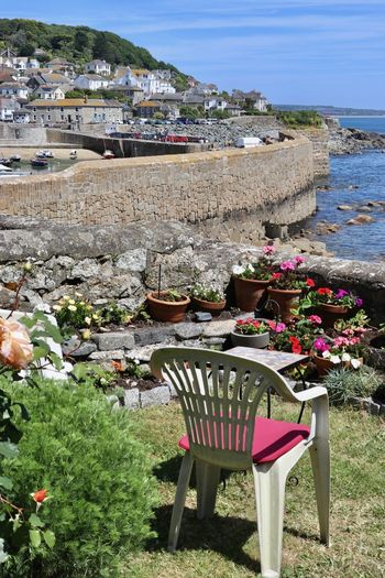 Cornwall, UK. Fishing Town Mousehole, Cornwall Coastal Town Fishing Boats Picturesque Place Seaside Town Tourist Destination