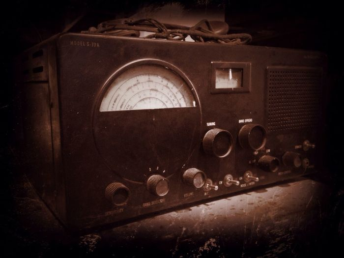 Antique Take Only Pictures, Leave Only Footprints Radios