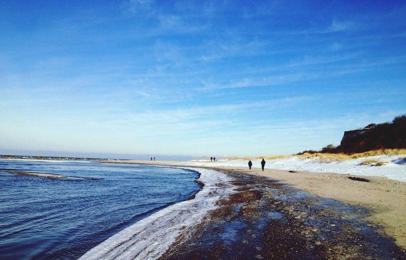 Ostsee Ein Bisschen Meer Wintersonne