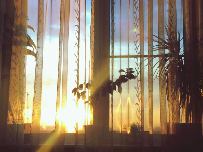 Home Sweet Home Window Sunset Moscow
