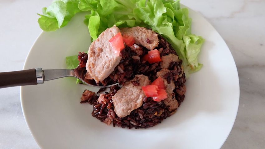 Food Meat Serving Size Close-up Ready-to-eat Thai Fried Rice Fried Rice Friedrice Healthy Cooking Healthy Living Healthy Lifestyle Clean Eating Healthy Food Healthy Choice Healthy Eating