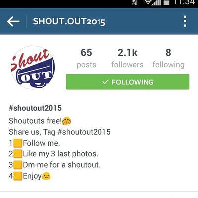 Go following him. @shout.out2015 Followme Followforlike Followhim Followforfollow follow4follow like4follow like4like likeforlike likeforfollow