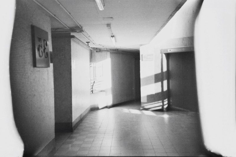 Fujiflim ISO200 Public House Estate Memory Old Estate Black And White Photography Black And White #self-developing Film EyeEmNewHere