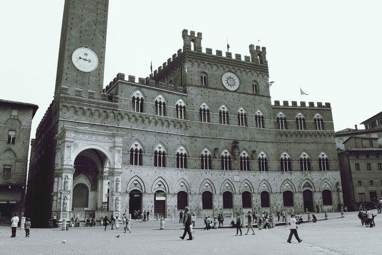 First Eyeem Photo Siena Italy Black And White Summer ☀