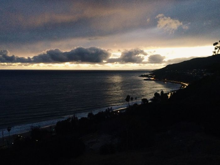 Storm Light PCH View To Pch Sunset