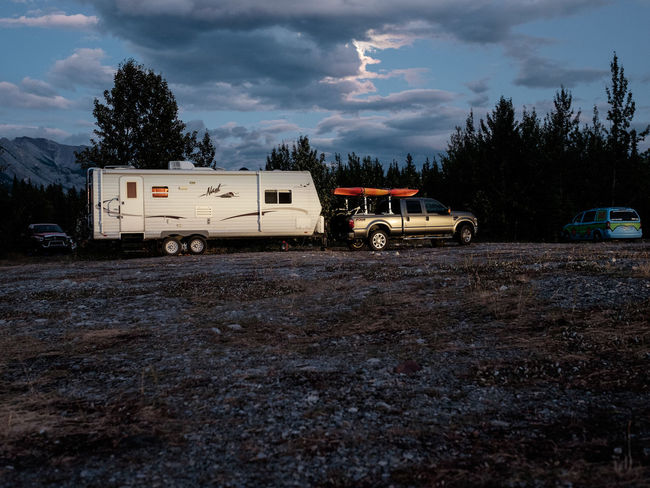 Adventure Club Camping Cars FUJIFILM X-T1 Jeep Life Nightphotography Wohnmobil Adventure Camper Campervan Car Caravan Cloud - Sky Fujifilm Jeep Land Vehicle Mode Of Transport Night No People Outdoor Outdoor Photography Outdoors Road Sky Transportation Be. Ready.