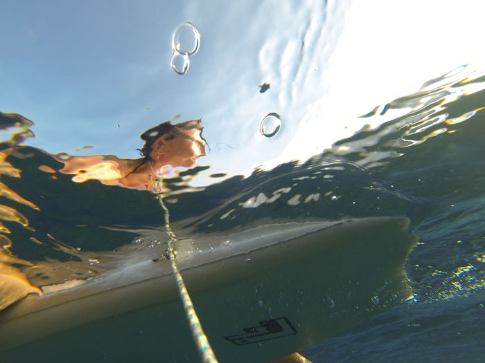 Surf's Up Sea Underwater