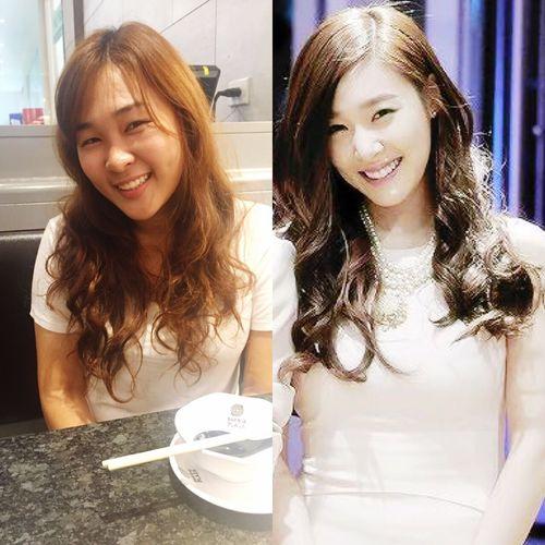 haha i love tiffany snsd SNSD Girls Generation Tiffany Hwang Love ♥