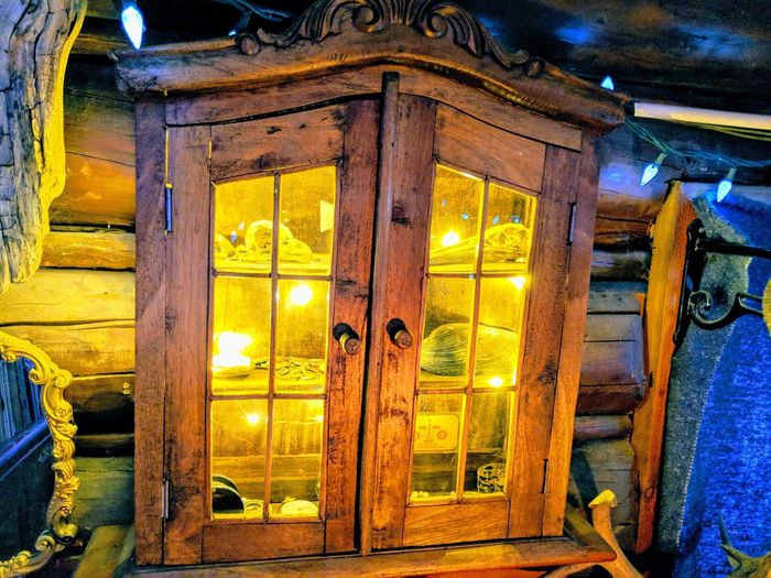illuminated cabinet. Cabinet Illuminated Interior LEDLights Led Lights  LED Light LED Light Log Cabin Interior Yellow Wood Cabinets Christmastime EyeEm Gallery Eye4photography  Illuminated Yellow Door No People Built Structure Indoors  Architecture