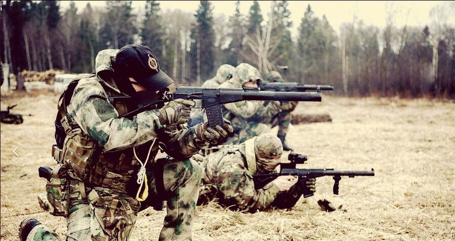 Shooting A Weapon Gun Weapon Camouflage Clothing Adult Men Army Adults Only Army Soldier Mother Russia Spec OPS