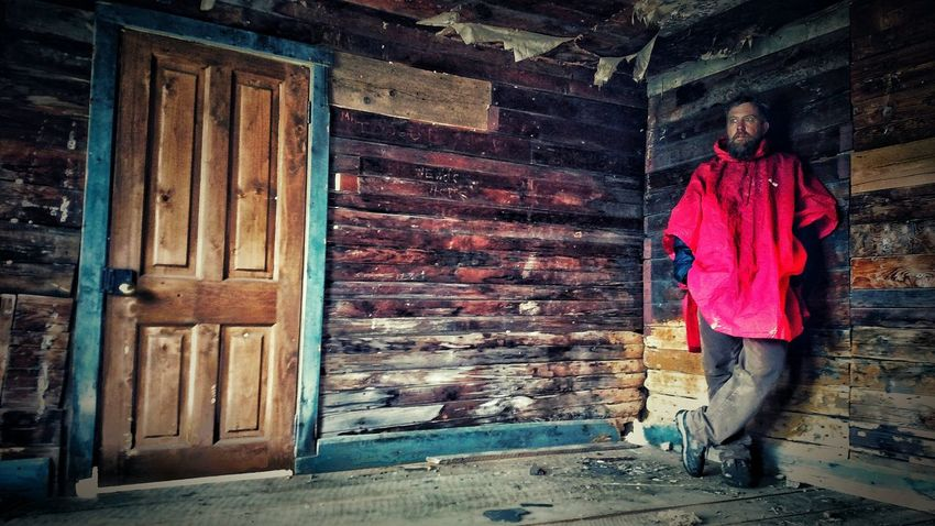 One Man Only Outdoors Real People Full Length One Person Mountain Man Contrast Colors Contrast And Lights Story Photography Taking Shelter From Rain EyeEm Best Shots Coloradophotography The Week Of Eyeem Eye Em Selects The Week On EyeEm