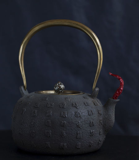 Close Up Of Tea Pot