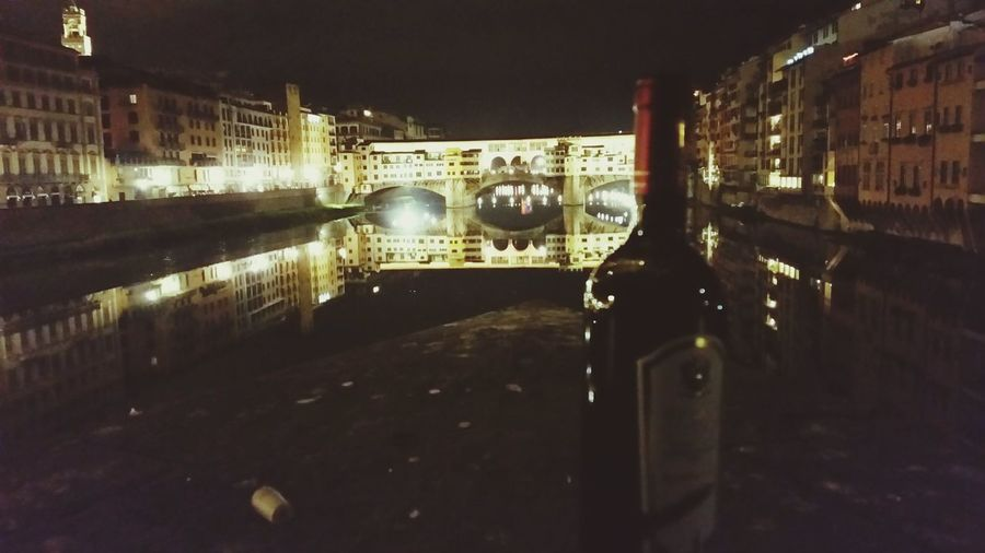 Florence. Florence Florence Italy Ponte Vecchio Wine
