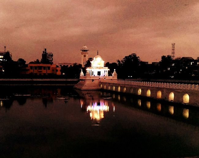 Ranipokhari Temple Monument Water Reflections Night Photography EyeEm Best Shots EyeEmBestPics EyeEm Gallery Htc One M8 Photography EyeEm Best Edits Popular Photos
