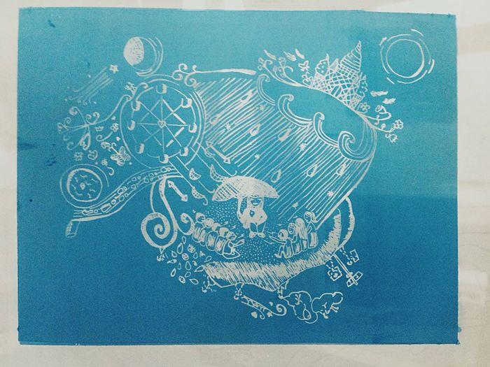 My Hobby Silkscreen Both Sides~ Joni Mitchell Song Almostdone