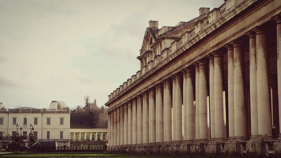 Greenwich Naval College Cloud - Sky 21st Birthday! London Vintage