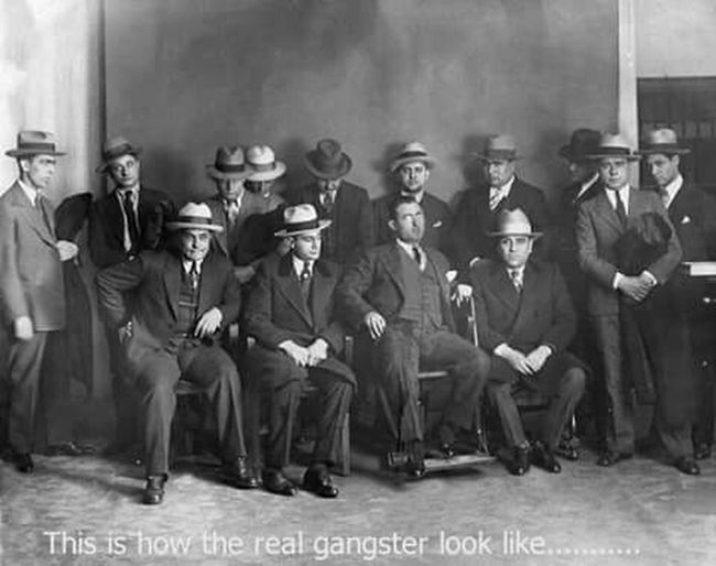 Gangster Old Oldgangsters Serious Family Business Thisishowtherealgangsterslooklike Fashion Style