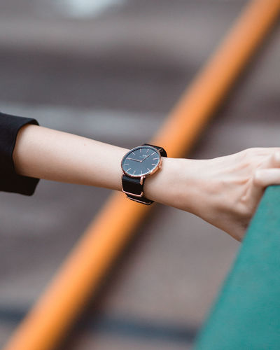 DW Product Shoot Watch Shoot Geometry Lines Aligned Composition Urban Architecture Architecture_collection Watch Wristwatch Human Hand Close-up Instrument Of Time Time Checking The Time