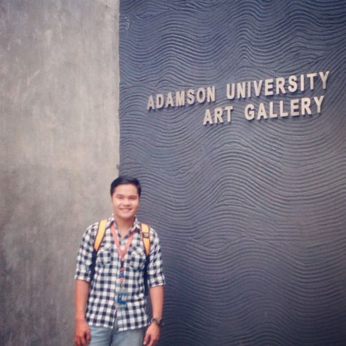 Art Gallery Artgallery AdamsonUniv Student LongTimeAgo