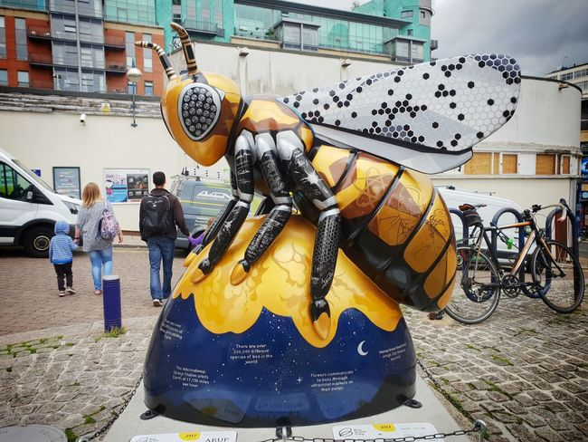 STEM bee (2) Manchester UK Manchester Bee Bee City Arts Culture And Entertainment Street Art