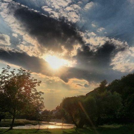 Sunset in Blagaj - Bosnia and Herzegowina ... summer clouds sun river wild sky fun love like follow