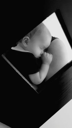 Close-up Childhood Sleeping Happiness Peace Tranquility Tranquil Scene Human Body Part Togetherness