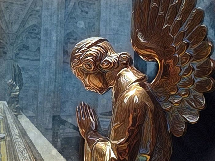 Angel For The Fallen Soldiers