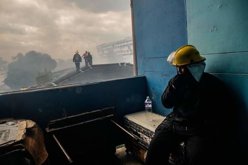 Eyeem Market TheWeek On EyEem Manila, Philippines Firemen Firefighter