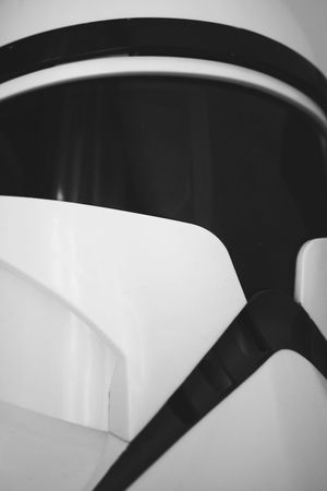 Abstract Abstract Photography Backgrounds Black & White Black And White Black And White Photography Blackandwhite Blackandwhite Photography Close-up Closeup Cosplay Costume Day Dressing Up Full Frame Indoors  Lieblingsteil No People Star Wars Star Wars Collectables Starwars Stormtrooper Stormtrooperhelmet Stormtroopers Toy