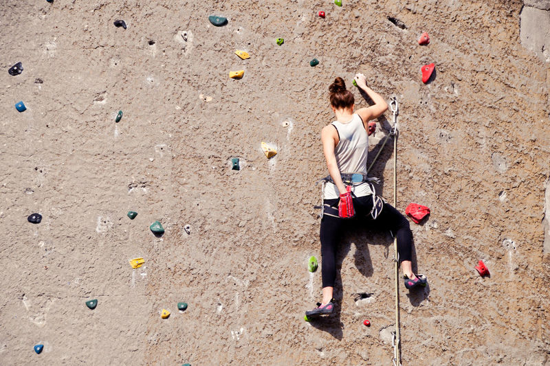 Adult Adults Only Climbing Wall Day Extreme Sports EyeEm Diversity Full Length Leisure Activity Lifestyles Long Goodbye One Person Outdoors People Real People Resist Rock Climbing Sport Standing The Secret Spaces Young Adult