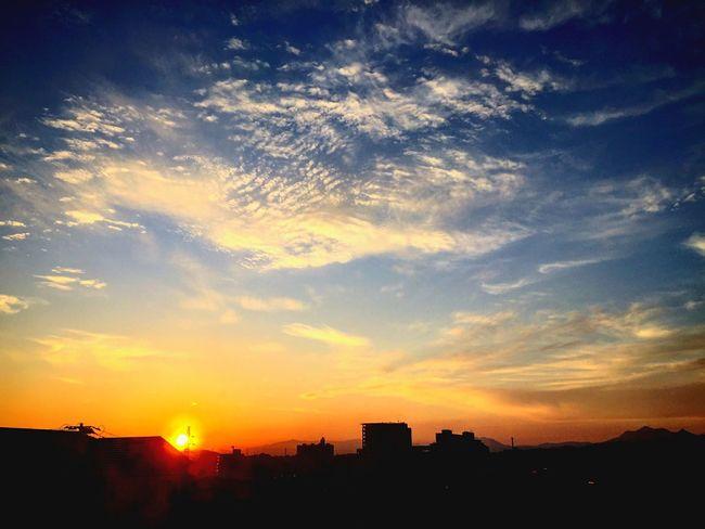 夕陽 夕焼け Sunset Sky 空 Japan