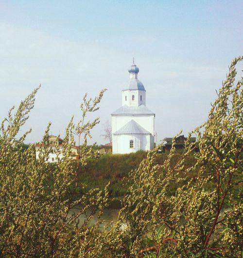 Одна из суздальских церквей. архитектура Церковь Architecture Church