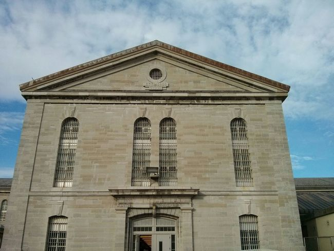 A historic building in the (now closed) Kingston Penitentiary