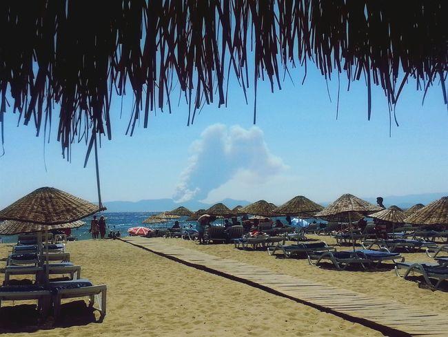 Beach Sarimsakli Ayvalık/cunda Turkey