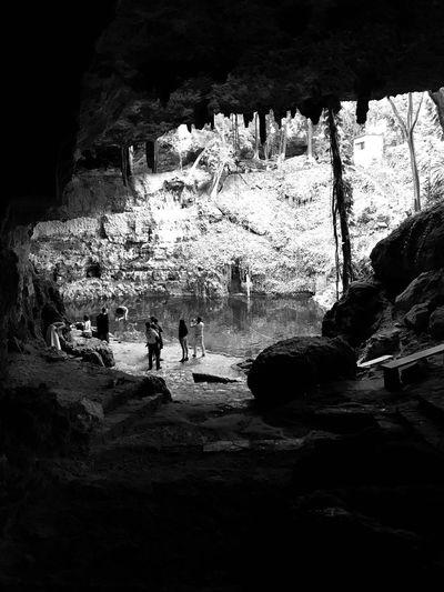 Cenote Shibalba Maya Mexico Yúcatan Cenote Caverna  Rock - Object Rock Formation Leisure Activity Large Group Of People Cave Nature