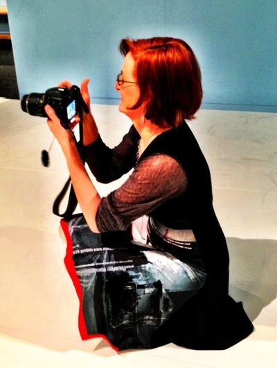 Portrait Taking Photos Of People Taking Photos IPhoneography Laura van Duren
