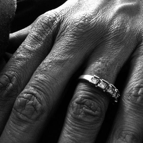 The Purist (no Edit, No Filter) EyeEm Monochrome Getting Inspired NEM Black&white Hand Hands EyeEm Best Shots Rings Fingers