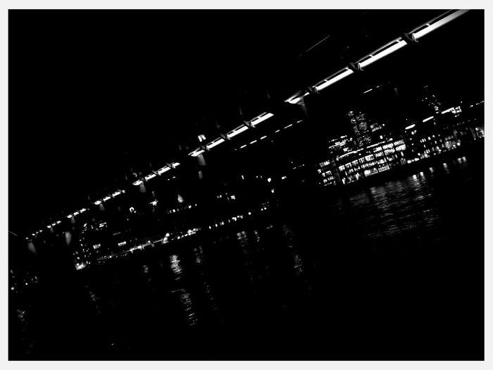 Walking around at Millenium Bridge - London Walking Around