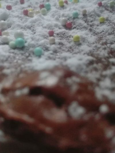 Snowy decor ? Chocolate Homemade Brownie Icing Sugar Sugar Décoration Food Food Stories Backgrounds Outdoors Water
