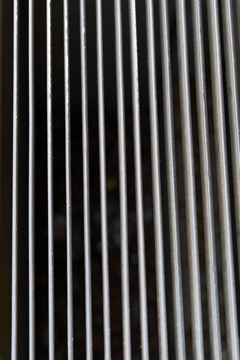 Abstract Alloy Backgrounds Close-up Corrugated Iron Day Design Detail Full Frame Grate In A Row Indoors  Iron Iron - Metal Metal Metal Grate No People Pattern Repetition Silver Colored Steel Striped Textured