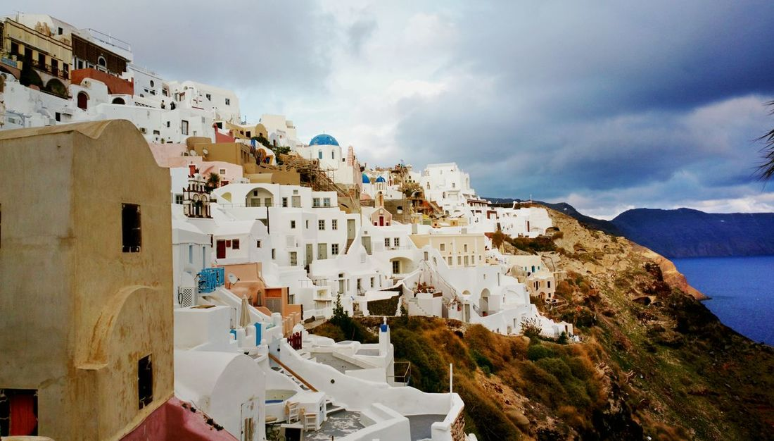 || Nature Theories || Oia, Santorini, Greece. TheFoneFanatic Nokia  Nokia808 Vacations Mobilephotography PhonePhotography Nature Mountain Beauty City Whitewashed Cliff Sea Sky TOWNSCAPE Residential District My Best Travel Photo
