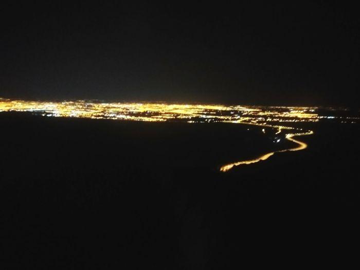 Ciudad De Noche Night Water No People Outdoors Sea Illuminated Sky