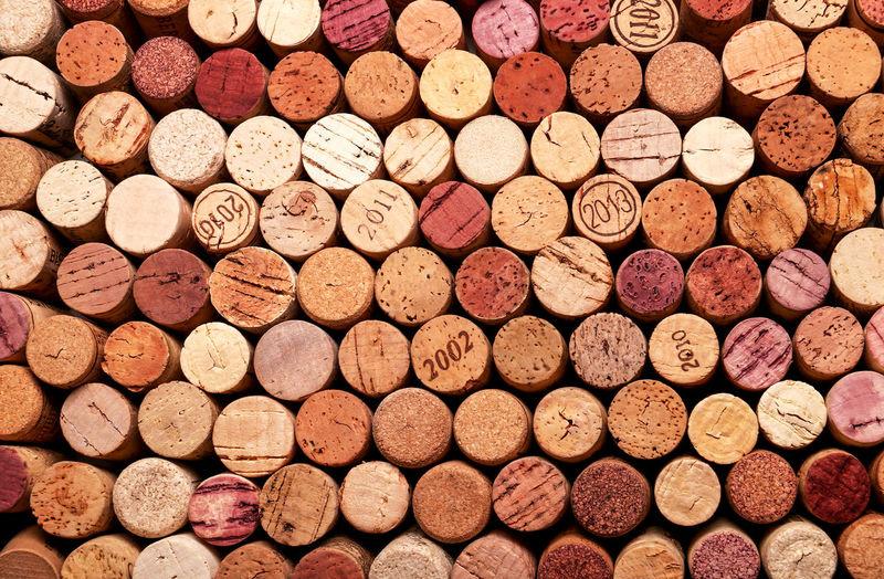 Full frame shot of wine