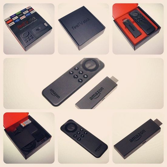The Amazon Fire TV Stick is indeed a nice little stick with a handy remote control which is smaller than the Fire TV RC but which also comes without voice search. Amazon Firetv FireTVStick Ott VoD SVoD TVoD